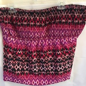 Shore club tankini top size 20 purple pink